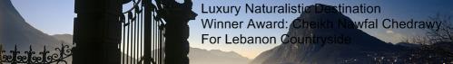 LEBANON AWARD WINNER: NAWFAL CHEDRAWY