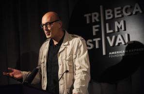Carlos Chahine Prenant La Parole Au Festival Du Film Tribeca N.Y. (Photo by Brad Barket/Getty Images North America)